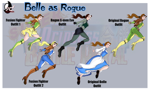SPFBR Belle as Rogue by Bryan-Lobdell