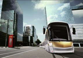 Trams in the future are cool.. by calamitySi