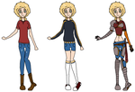 SAVANNAH-3 Outfits by LynaKiovote