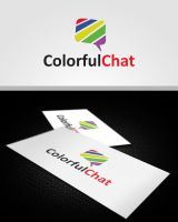 Colorful Chat Logo by pascreative