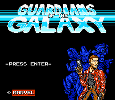 Title Screen - Guardians of the Galaxy Fangame by RedBlupi