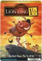 Lion King 1 1/2 Backer Card by LionKingForLife