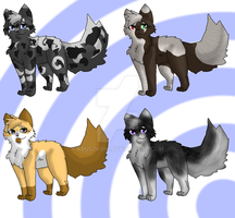 Male Kitten Adoptables 2015 by aruszkow