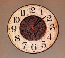 Rusty Clock 04 by cemacStock