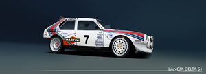 Lancia Delta S4 B Group Rally Car by DarioJurkovic