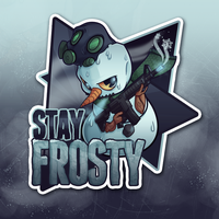 CS:GO Sticker - Stay Frosty by zombie