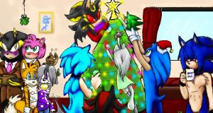 Christmas Collab 2011 by WhiteRaven4