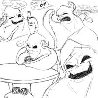 Lots Of Oogie Boogie by R2ninjaturtle