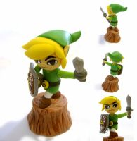 Windwaker Link by vrlovecats