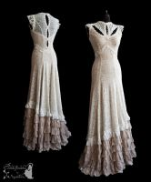 Dress Illicens Ivory, Somnia Romantica by M. Turin by SomniaRomantica