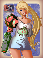 Samus - T-Shirt Series by EdMoffatt