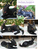 Umbreon Sculpture by PacificPikachu