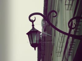 Old Lamp in my town. by 7MissIzzy7