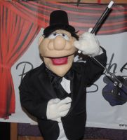 Magician 2 Puppet by PuppetSmith Arts by kingart4