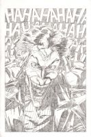 The Joker - Pencils by The-Real-NComics