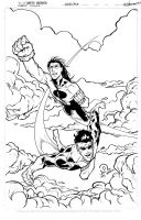 Invincible an Oliver inks by JoeyVazquez