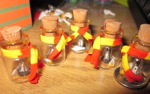 Harry Potter Jars by audreymika