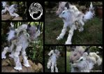 Crysaell - OOAK Poseable Fantasy Creature - SOLD by SonsationalCreations