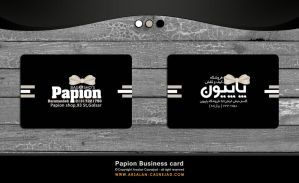 Papion Business Card by arsalan-design