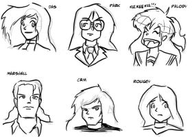 The Many Faces of Dasien by Neilsama