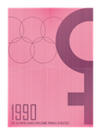 poster - history remembers the 1990 olympics 2 by iAmAneleBiscarra