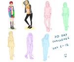 30 Day Challenge Day 6-12 by oPoof
