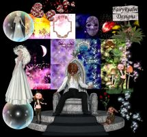 The Goblin King Backgrounds and Tubes by FairyRealm30