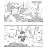 sketches for a story pitch by radsechrist