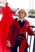 Les Miserables Cosplay: Enjolras, Red and Black by GoldenMochi