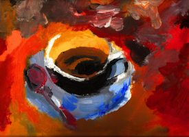 coffee cup by phospheneque
