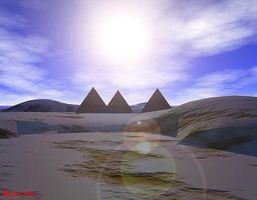 The Great Pyramids by Giaus