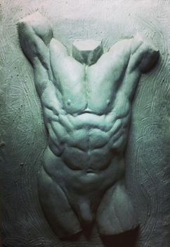 Torso study by AlfredParedes