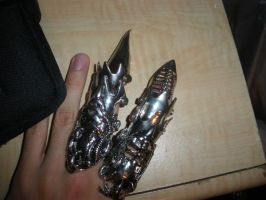 Claw rings by latinoman
