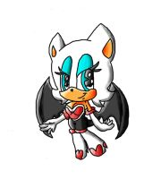 rouge the bat 2 by silvazelover2