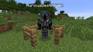 FuriousDestroyer (PopularMMOs) joins the battle! by emilyanncoons