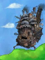 Howl's moving castle by Smoox