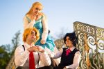 Young Phantom Blood Group by Dnoyr