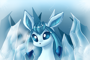 Glaceon by Night-Wolf122