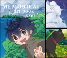Memorieal Charity Art Preview by yura-tsuki