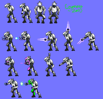 Covenent_Zer0 sprite sheet 1 by Covenent-Zer0