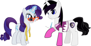 Vector Rarity using her new mannequin by Barrfind