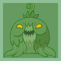 Monsterpedia #4: Brussel Sprout by The-Knick