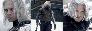 Gray-haired Winter Soldier by Milady666