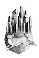 City Rabbit by heikala