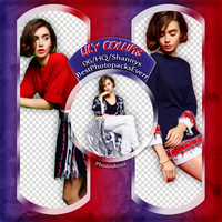 Png Pack 870 - Lily Collins by BestPhotopacksEverr