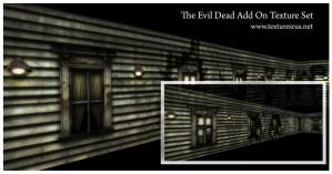 Evil Dead Textures by roseenglish