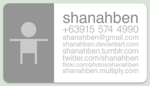 Business Card - WIP by shanahben