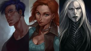 Characters_01 by SineAlas