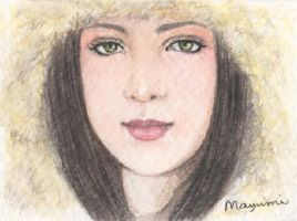 Lovely Winter - ACEO by MayumiOgihara