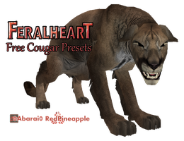FeralHeart :: April 20 - COUGAR by 0Abarai0